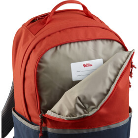 Fjällräven High Coast Rugzak Kinderen, flame orange-navy